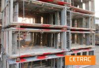 aluminum-scaffolding-plettac-assco-SL-918-sqm-Steel-vertical-frame