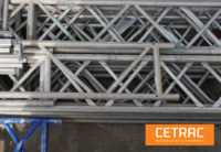 Lattice Girder 8,00x0,45 m aluminum-Layher-components
